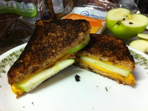 Raisins, Cheddar, and Apples! Oh my!