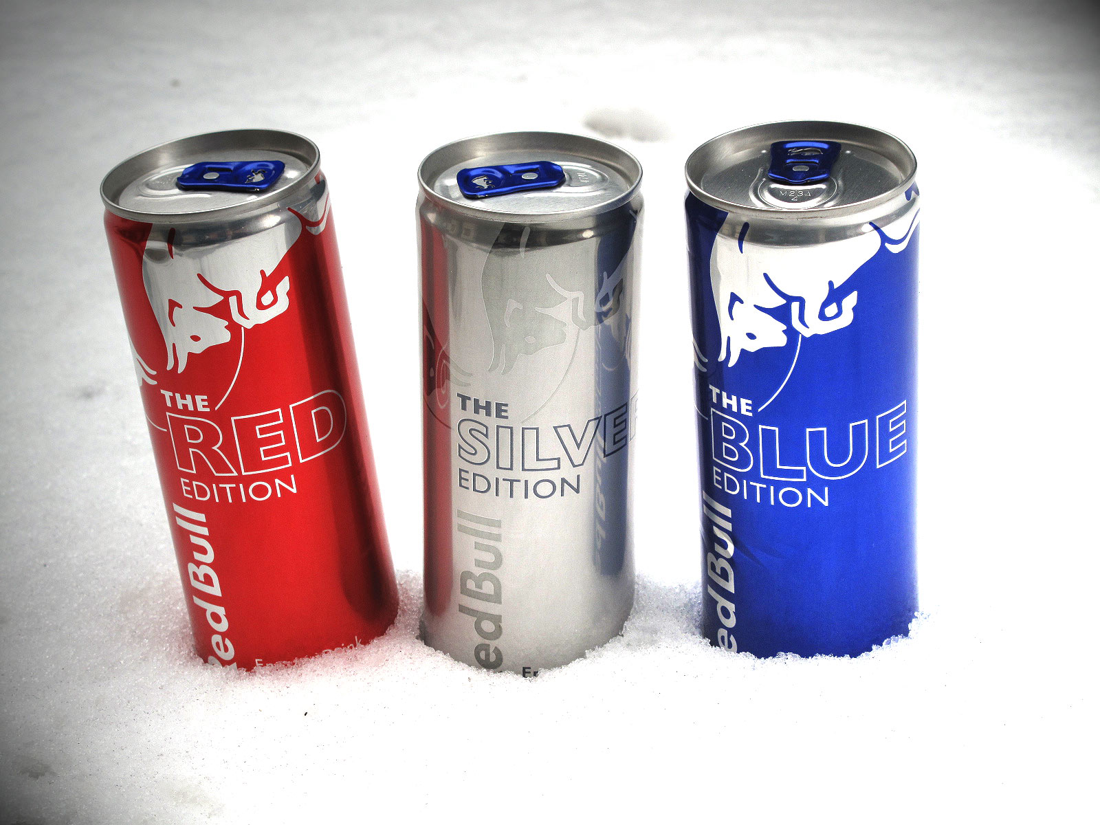 Red Bull (Red, Blue, and Silver Edition)